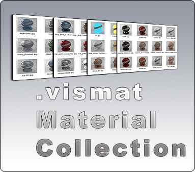Free Vray for Rhino Material Collection .vismat
