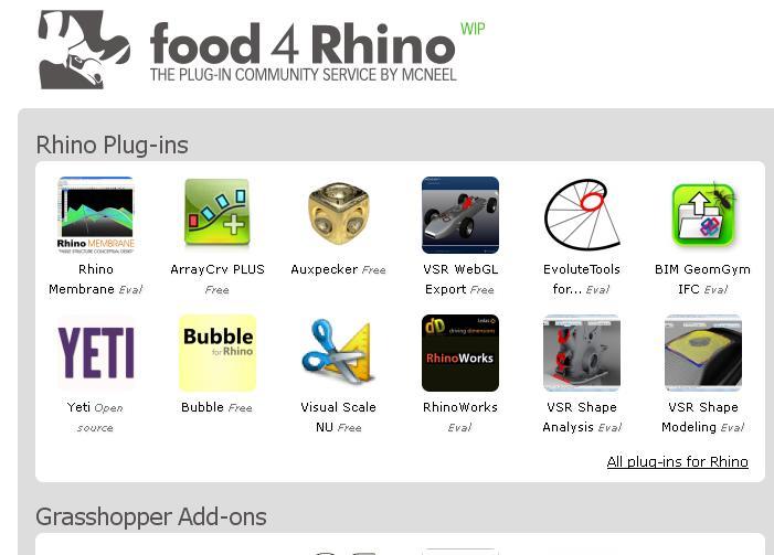 rhino plugins